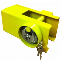 Leisurewize 110mm x 110mm Coupling Lock System Caravan Trailer Towing Lock