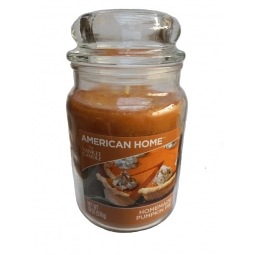 American Home Large Scented Yankee Candle 19oz 538g Orange Homemade Pumpkin Pie