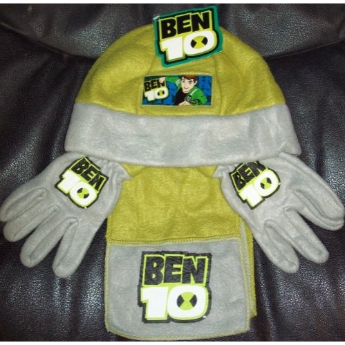 Ben 10 3 Piece Fleece Set