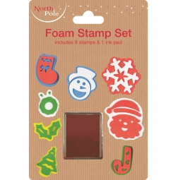 Christmas Stamps And Ink