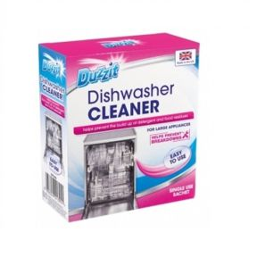 Duzzit Dishwasher Cleaner Freshener Powder Sachet 75g Helps Prevent Build up