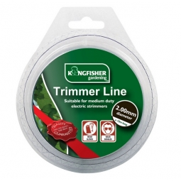 Kingfisher Gardening 2.00mm x 15M Trimmer Strimmer Replacement Line Medium Duty