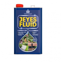 Jeyes Fluid Original Multi-Purpose Disinfectant Outdoor Cleaner Drain Patio 5L