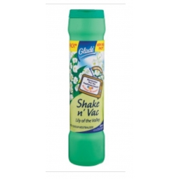 Glade Shake N' Vac - Lily Of The Valley - 500g Carpet Freshener With Neutraliser
