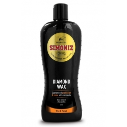 Simoniz Long Lasting Car Diamond Wax Guaranteed Carnauba Wax Protection 500ML
