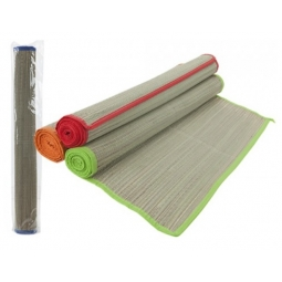 Natural Woven Straw Roll Out Travel Beach Mat Blanket 60cm x 175cm