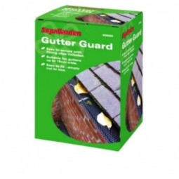 SupaGarden Gutter Guard Protects Gutters From Leaves 6m x 16cm