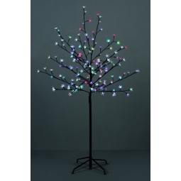 Premier 150cm 1.5M LED Light Up Cherry Blossom Tree Outdoor Indoor Multi Colour