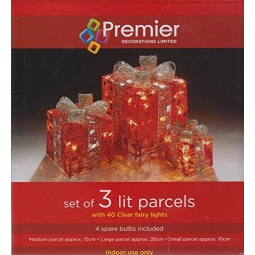 Light Up Christmas Parcels
