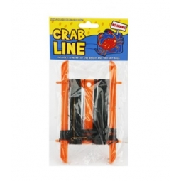 Crab Friendly Fishing Line 13M Line Weight 2 Bait Bags No Hooks Beach Holiday