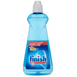 Finish Dishwasher Rinse Aid For Shinier & Drier Dishes 400ML 5 In 1 Protects