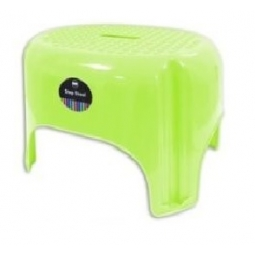 Green Large Bright Coloured Plastic Step Stool Household Holds 85KG