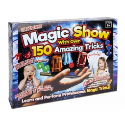 Ultimate Magic Show 150 Amazing Magic Tricks In One Box Professional Performance