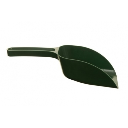Plastic Green Scoop