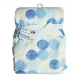 Fleece Baby Blanket Luxury Unisex Soft for Babies from Newborn