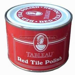 Tableau Red Tile Wax Polish-restores colour to Terracotta tiles 250ml