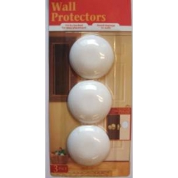151 Love Your Wood - Pack Of 3 Wall Protectors - Avoid Damage To Walls