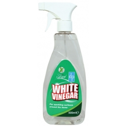 500ml White Vinegar Spray For Tough Dirt and Grime Traditional Cleaner