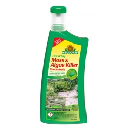 Neudorff Organic Path Moss & Algae Killer Concentrate For Gravel Paths Trees 1L