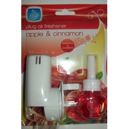 Pan Aroma Plug In Air Freshener Apple & Cinnamon Up To 30 Days Supply 20ml Bottle