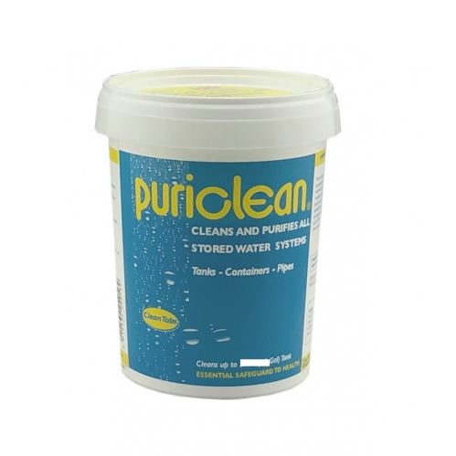 Puriclean Home Brew Equipment Cleans Purifies All Stored Water Systems 100g