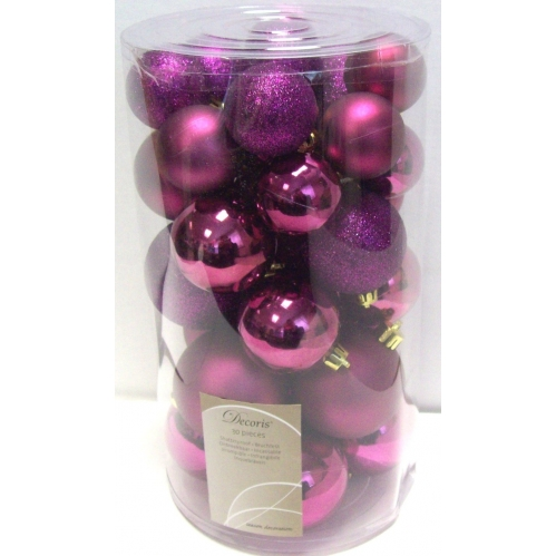 30 Fig Purple Baubles