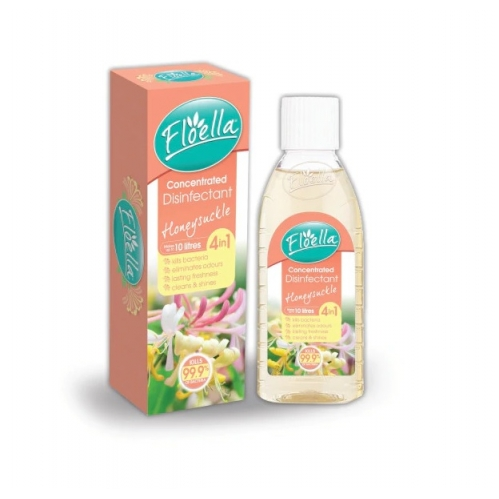 Floella Concentrated Disinfectant Kills Bacteria Odour Freshen Honeysuckle 150ml