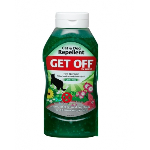 Get Off 460g, Cat & Dog Repellent, Discourages from Fouling on Lawns & Gardens