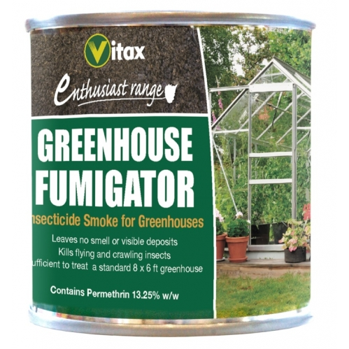 Vitax For A 8 x 6 FT Greenhouse Fumigator Insecticide Smoke Pest Control 3.5g