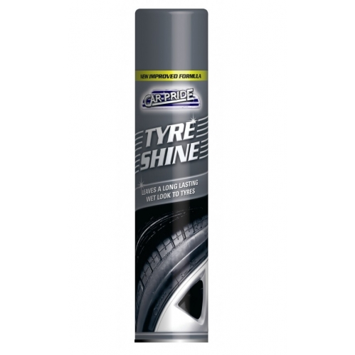 Carpride Tyre Shine Leaves A Long Lasting Wet Look To Tyres 300ml