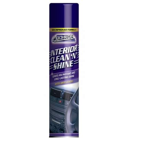 Carpride Interior Clean & Shine Leaves An Instant And Long Lasting Shine Anti Static 300ml