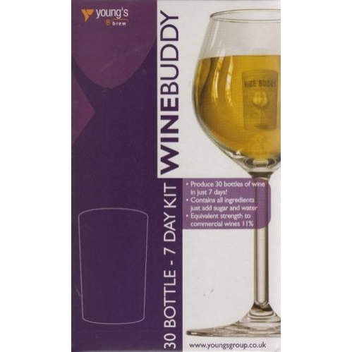 Wine Buddy Home Brewing Kit Make Your Own Wine Makes 30 Bottles Chardonnay