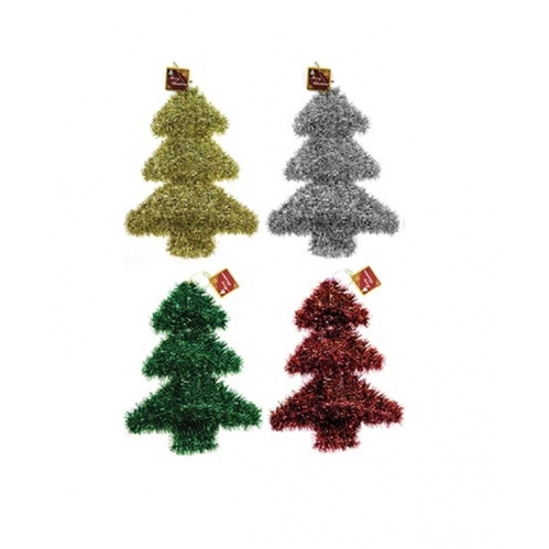 Set Of 4 Christmas Tinsel