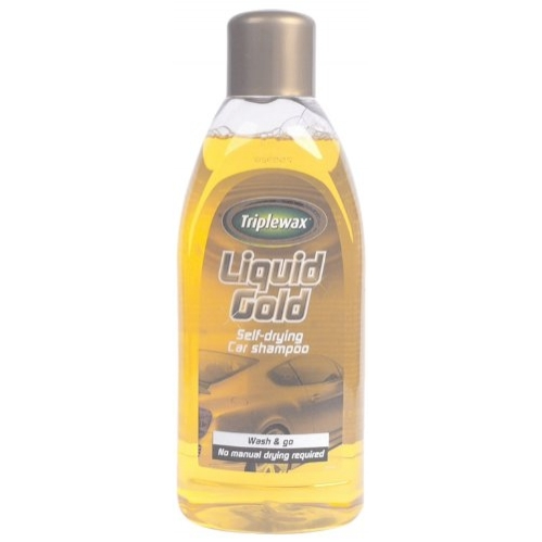 Triplewax - Liquid Gold Self Drying Car Shampoo - 1 Litre - Wash and go