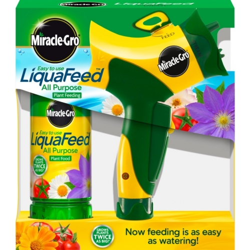 Miracle-Gro Liquafeed Advanced Hose Feeder Starter Kit All Purpose Plant Food
