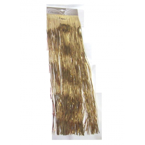 Gold Foil Tinsel Garland