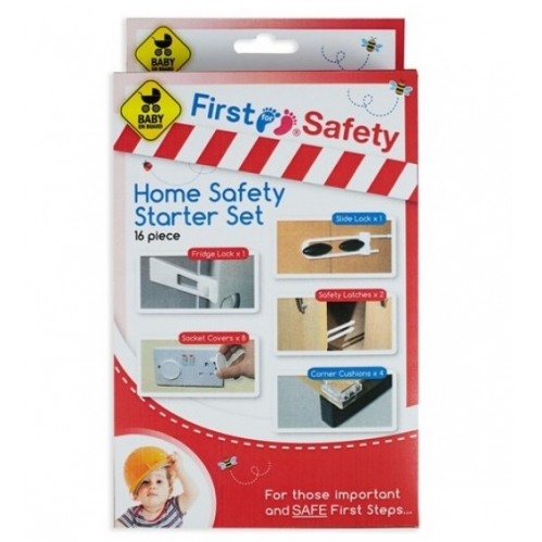 Home Safety Starter Set 16 Piece House Baby Proof Cupboard Locks Socket Cover