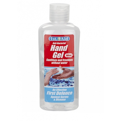 Antibacterial Hand Gel 100ml 75% Strength Effective Very Against Germs Bacteria