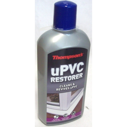 Thompson's uPVC Cleaner & Restorer For Doors Windows Conservatories 480ML