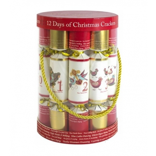 12 Days Of Christmas Crackers