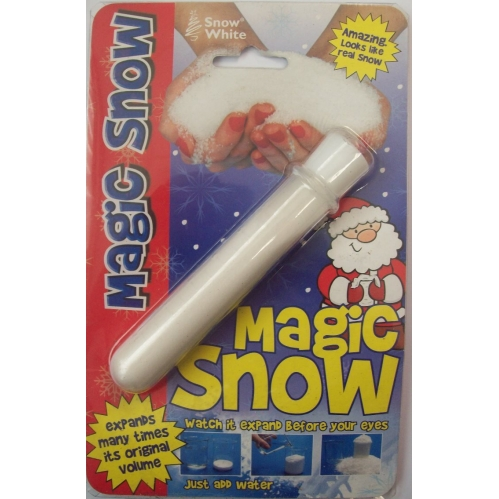 Christmas Magic Snow Powder FAKE INSTANT just add water SNOW Christmas decs