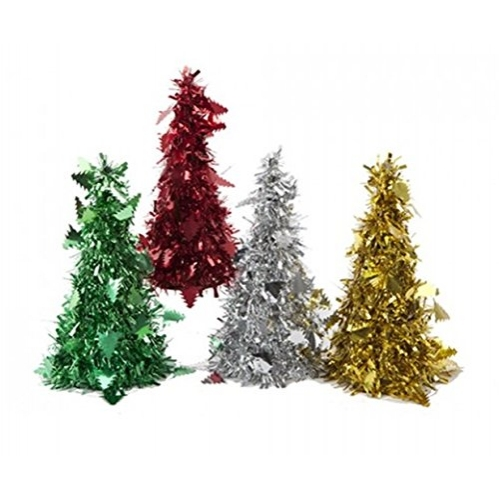 4 Tinsel Trees