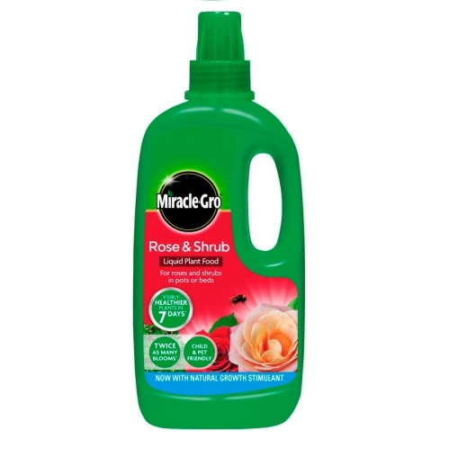 Miracle-Gro Rose & Shrub Concentrated Liquid Plant Food - 1L - Rose Feed