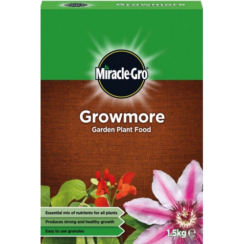 Miracle-Gro - Growmore Garden Plant Food Granules - 1.5KG