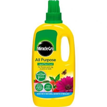 Miracle-Gro - All Purpose Concentrated Liquid Plant Food - 1 Litre
