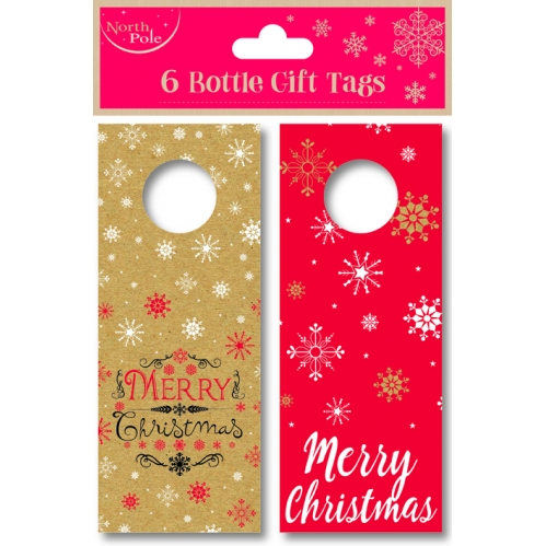Christmas Bottle Gift Tags
