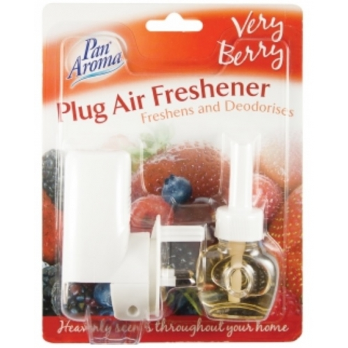 Pan Aroma Plug In Air Freshener Plug Unit With Scented Fragrance - Very Berry