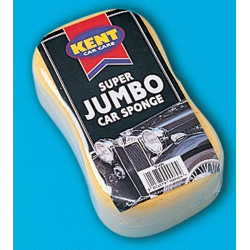 Kent Car Care Oval Super Jumbo Car Wash Cleaning Sponge Bike Van Car