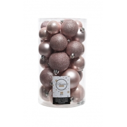 30 Blush Pink Baubles