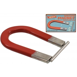 SupeRetro Toys Traditional Horseshoe Magnet With Metal Bar Education Science